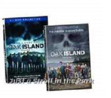 Foto di Vivastreet.it Dvd originali serie tv THE CURSE OF OAK ISLAND 5 stagioni