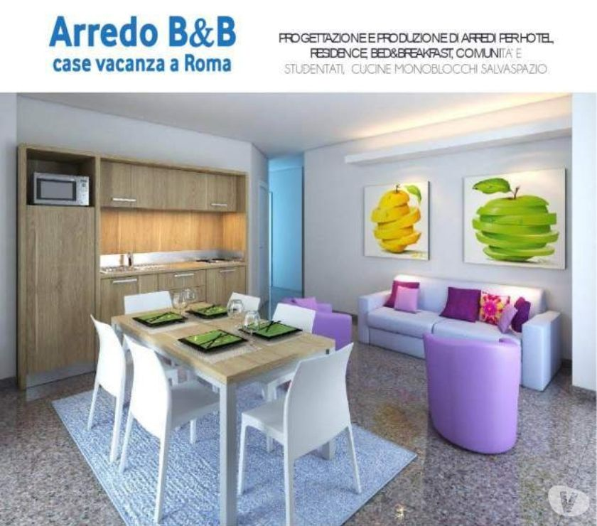 Cucine monoblocco a scomparsa arredo residence mini for Mini arredo bisceglie