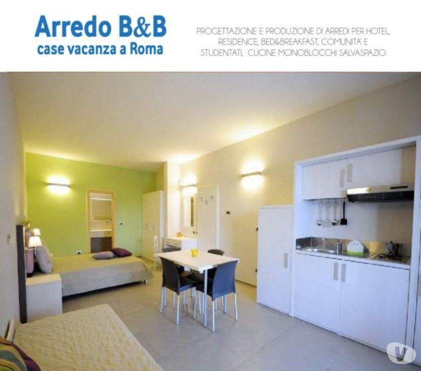 Foto di Vivastreet.it Cucine monoblocco a scomparsa-ARREDO CASE VACANZA B&B A ROMA