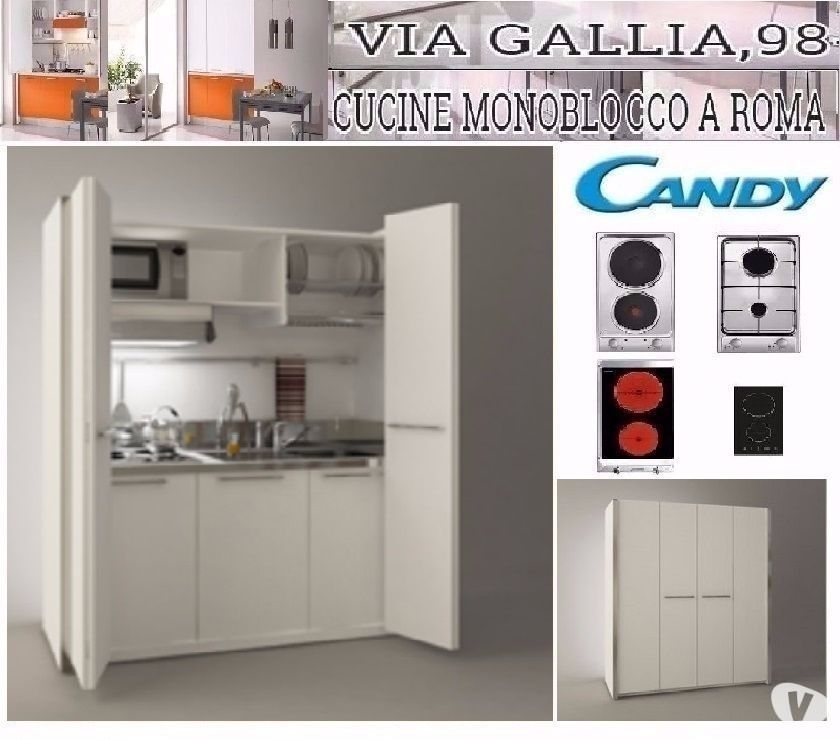 Arredo Residence A Roma Cucina Monoblocco Scomparsa 184cm In Vendita Roma Vendita Mobili Usati
