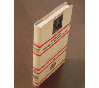 Foto di Vivastreet.it Manoscritti economici-filosofici del 1844, KARL MARX, 1968.