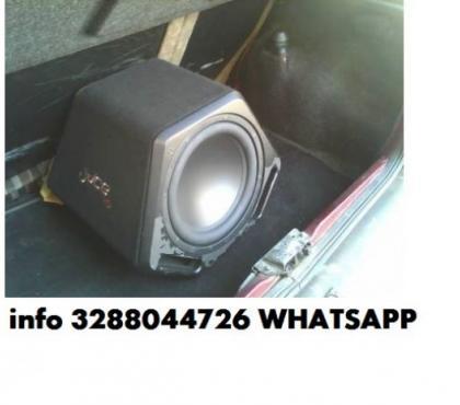Foto di Vivastreet.it T1 audio t1-15at subwoofer attivo amplificato auto 38cm