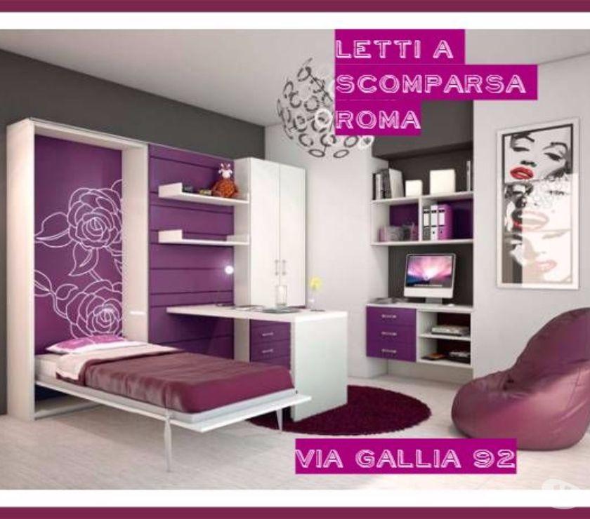 LETTO A SCOMPARSA C06 in vendita Roma - Vendita mobili usati