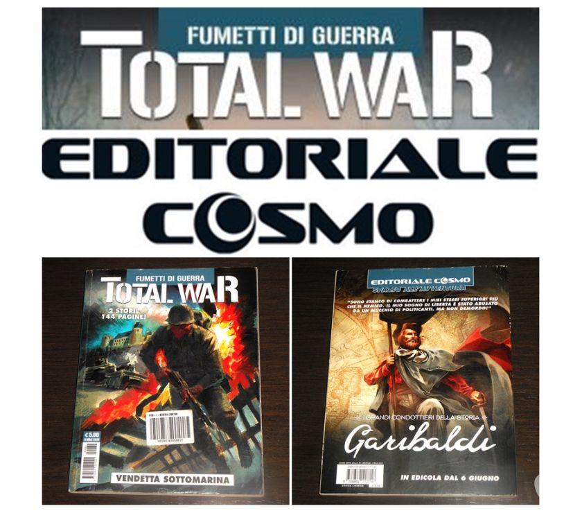 Collezionismo - Libri Bologna e provincia Bologna - Foto di Vivastreet.it TOTAL WAR 4, VENDETTA SOTTOMARINA, EDITORIALE COSMO 2019.