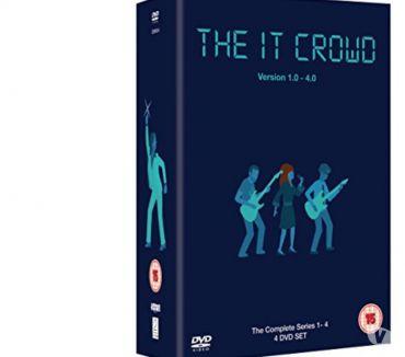 Foto di Vivastreet.it Dvd originali serie tv completa THE IT CROWD 4 stagioni