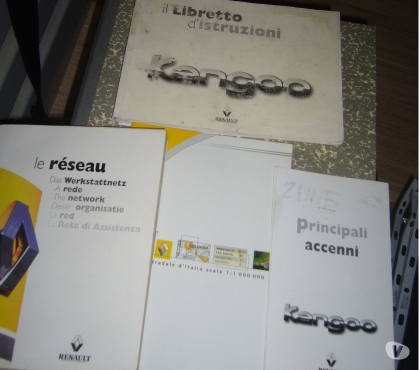 Foto di Vivastreet.it Manuale uso manutenzione Renault kangoo (1998-2003