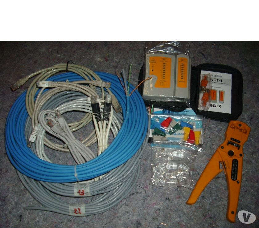 Foto di Vivastreet.it KIT PER CABLAGGIO CAVI ETHERNET