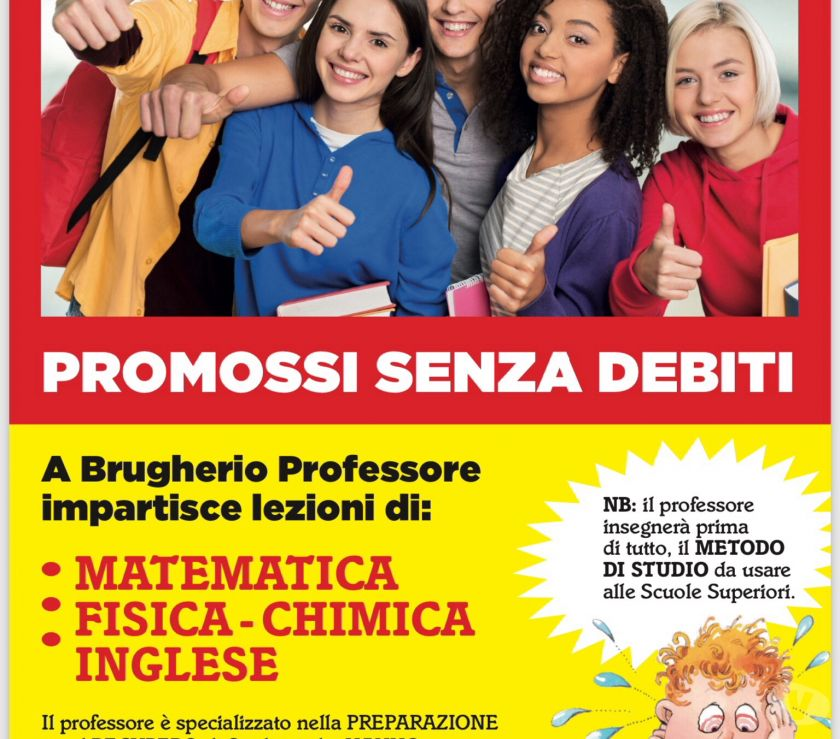 Foto di Vivastreet.it Lezioni,Ripetizioni di Matematica,Fisica,Chimica a Brugherio