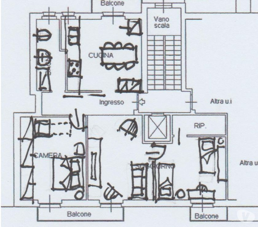 Foto di Vivastreet.it splendido appartamento sopra metro 15' per politecnico