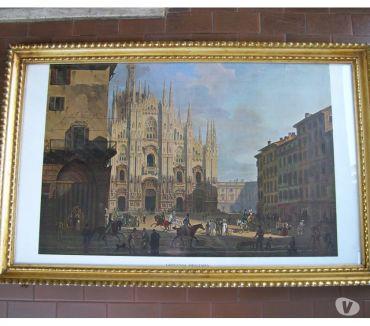 Foto di Vivastreet.it Antica cornice in oro con vetro e stampa di Migliara, quadro