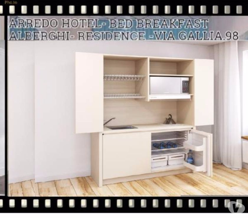 Cucina monoblocco a scomparsa 120 cm JOLLY LARICE RESIDENCE in ...