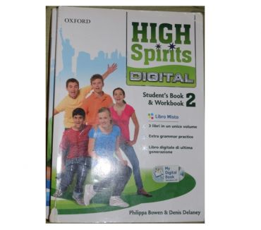 Foto di Vivastreet.it libro inglese seconda media,High Spirit 2 978019466580