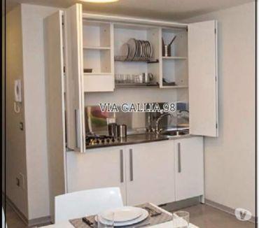 Foto di Vivastreet.it Arredo bed breakfast a roma-Cucina monoblocco 155 cm poli l