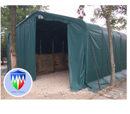 Foto di Vivastreet.it TENDONI 8 X 12 X 5,25 MT. IN PVC PROFESSIONALI. MM ITALIA