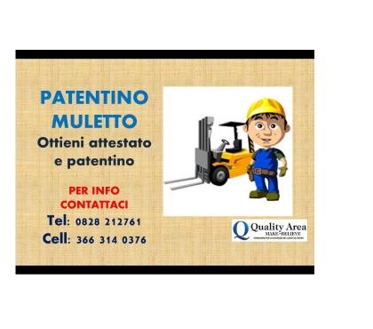 Foto di Vivastreet.it Patentino Carrello Elevatore (MULETTO)