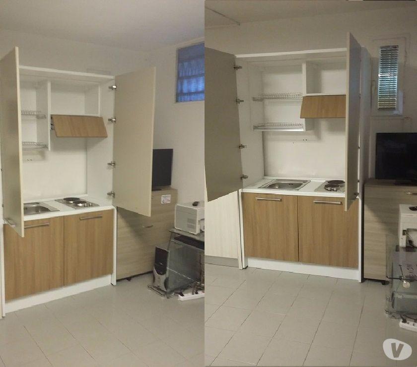 Cucina monoblocco a scomparsa 125 mini cucina 890 in - Mini cucina monoblocco ...