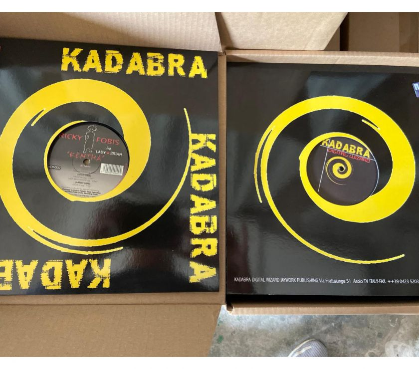 "Foto di Vivastreet.it MIX 12"" - Ricky Fobis Feat Lady Brian ‎– Kentha"