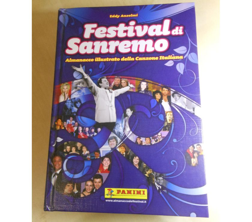 Foto di Vivastreet.it Festival di Sanremo, Eddy Anselmi, Ed. Panini 2009.