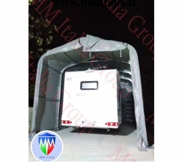 Foto di Vivastreet.it Tendoni Tunnel per rimessaggio Camper 4 x 8 x 3,35