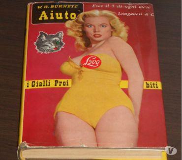 Foto di Vivastreet.it i Gialli Proibiti, Aiuto, W.R. BURNETT, Longanesi & C. 1961.