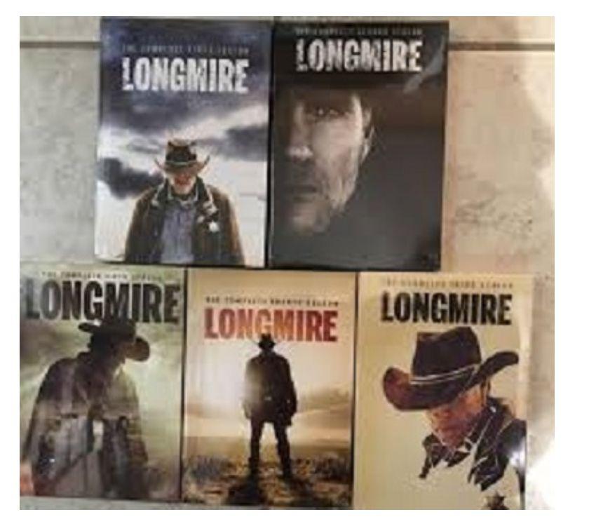 Foto di Vivastreet.it Dvd originali serie tv LONGMIRE completa 6 stagioni