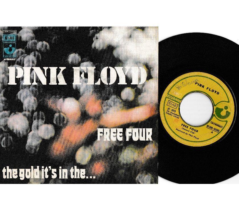 "compact disc dvd e videogames Palermo e provincia Palermo - Foto di Vivastreet.it PINK FLOYD - Free Four - 7"" 45 giri 1972 EMI Italy"
