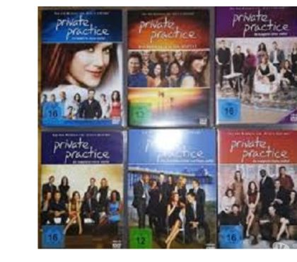 Foto di Vivastreet.it Dvd originali serie tv PRIVATE PRACTICE 6 stagioni