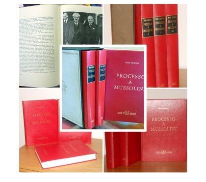 Foto di Vivastreet.it Processo a Mussolini, Edizione C.E.N. 1967, 3 volumi.