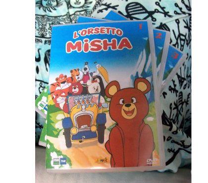 Foto di Vivastreet.it Misha l'orsetto serie animata completa in dvd