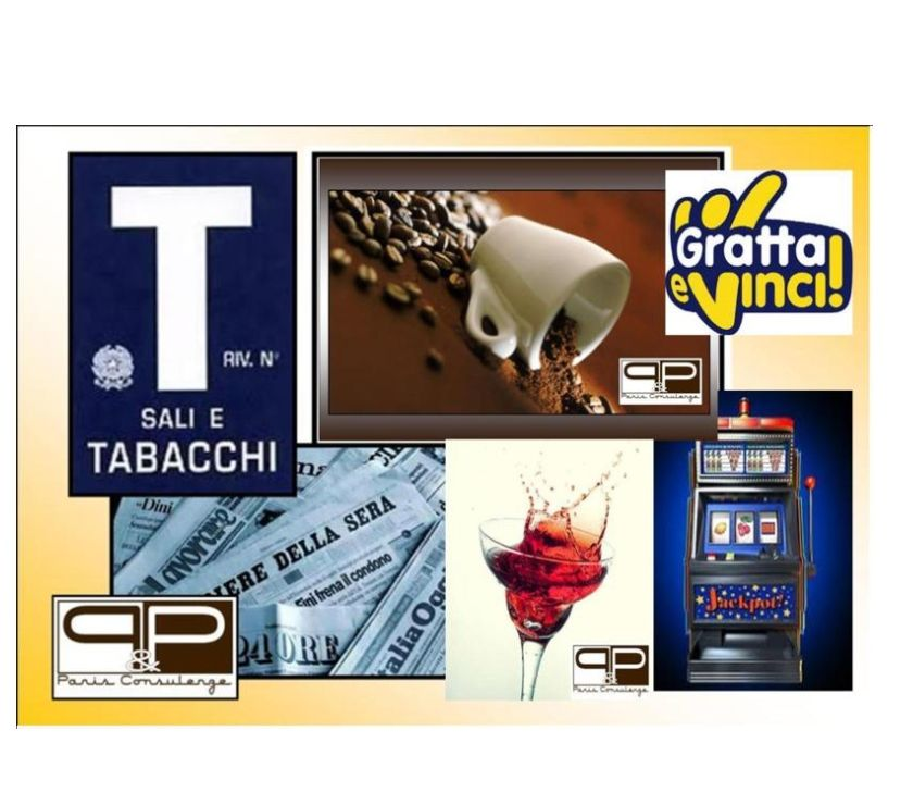 Foto di Vivastreet.it Bar Tabacchi Ricevitoria con slot machine - rif. BAR333