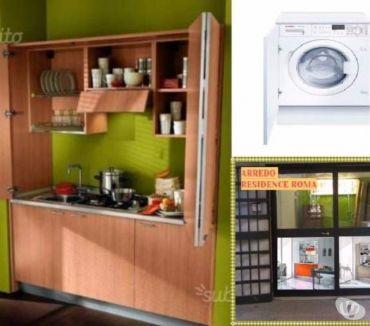 Foto di Vivastreet.it Cucina Monoblocco CERY 185cm+Lavatrice-ARREDO AFFITTACAMERE