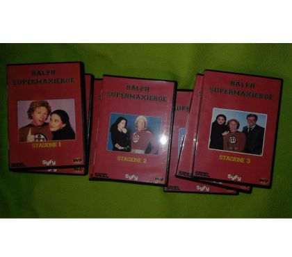 Foto di Vivastreet.it Ralph Supermaxieroe serie TV completa in dvd