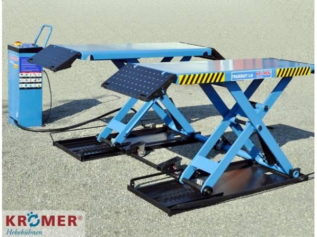 Ponte sollevatore auto a forbice 3 0t 220v 380v padova for Ponte sollevatore mobile per auto