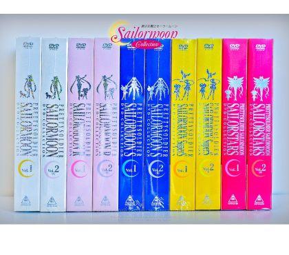 Foto di Vivastreet.it Sailor Moon le 5 serie complete in box dvd