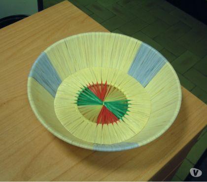 Foto di Vivastreet.it Cestino di paglia multicolore
