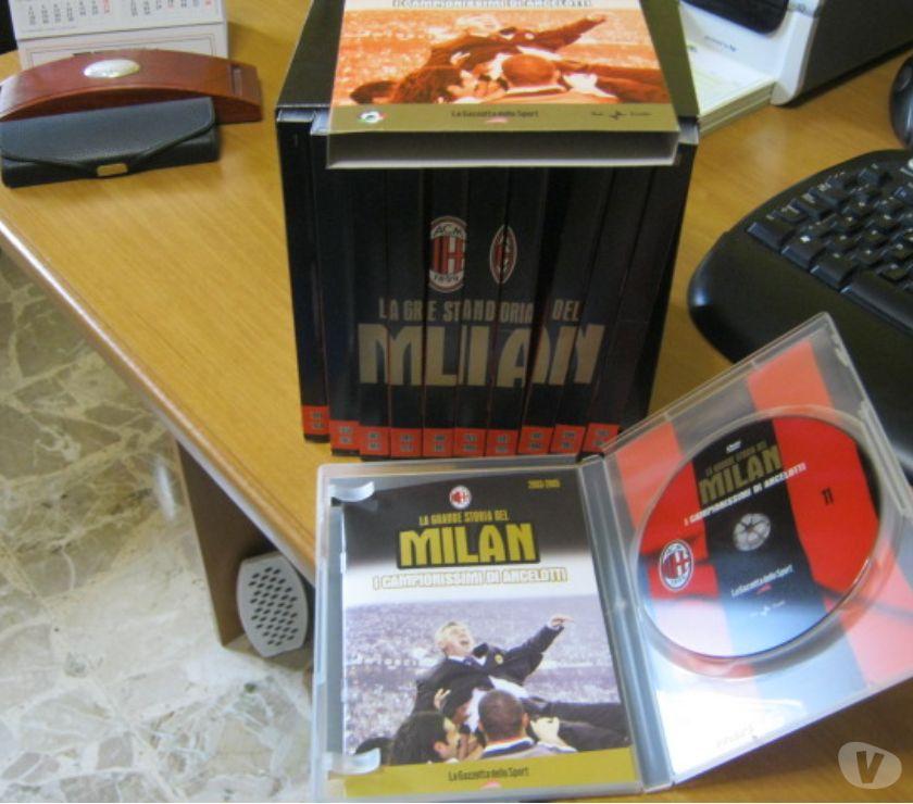 compact disc dvd e videogames Reggio nell'Emilia e provincia Scandiano - Foto di Vivastreet.it La Grande Storia del Milan - Box Collection 11 DVD