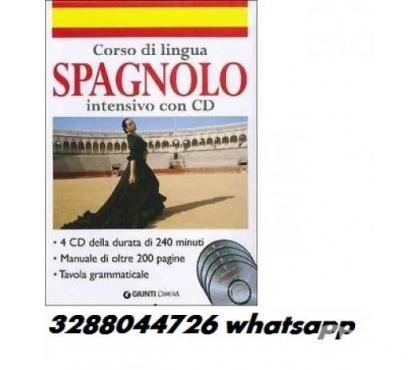 Foto di Vivastreet.it Corso di lingua spagnolo con cd 4 cd della durata di 240 min