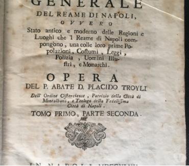 Foto di Vivastreet.it Istoria generale del Reame di Napoli