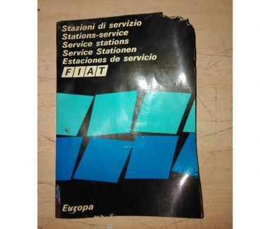 Foto di Vivastreet.it Depliant manuale fiat stazioni di servizio in Europa anni 70