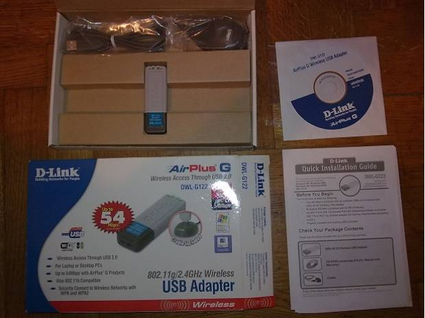 Foto di Vivastreet.it D-link dwl-g122 airplus g wireless usb adapter wi-fi