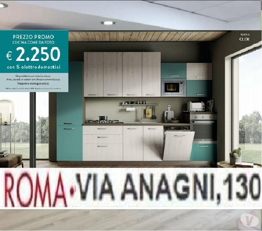 Cucina In Offerta A Roma Cloe Via Anagni 130 Cucine In Vendita Roma Vendita Mobili Usati
