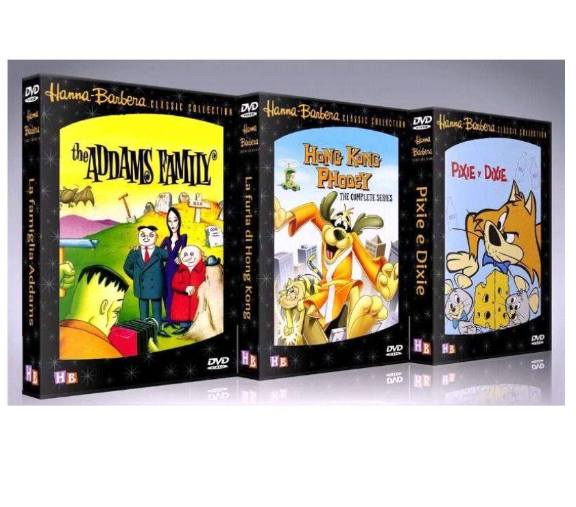 Hanna e barbera cartoni animati completi in dvd milano