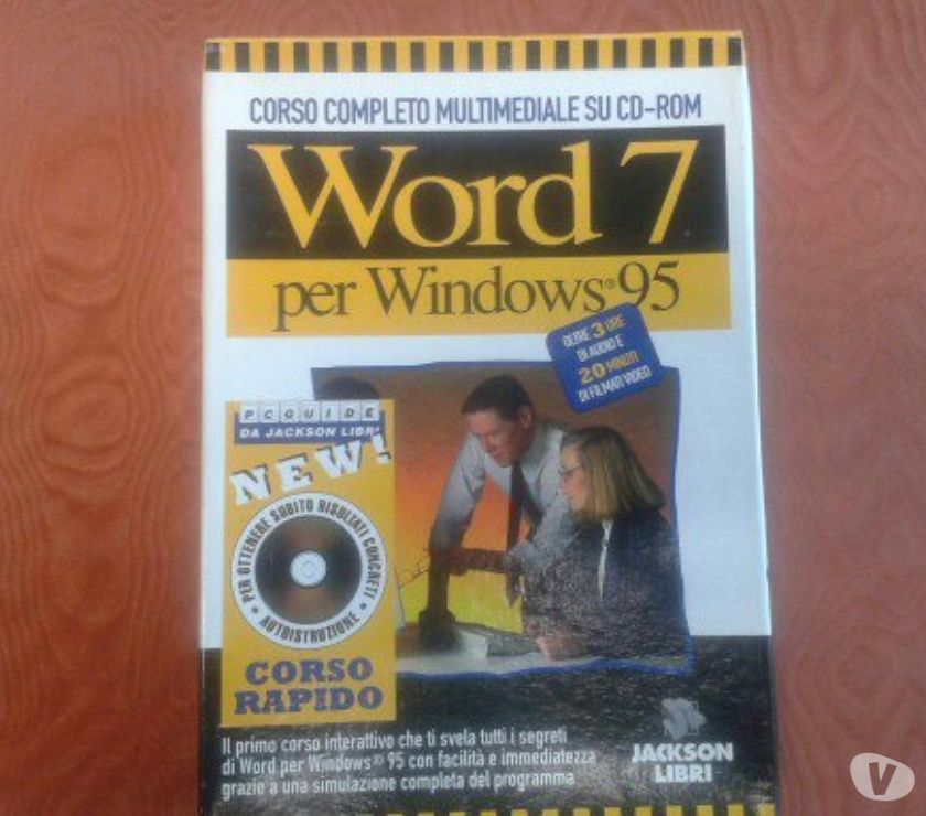Foto di Vivastreet.it CORSO SU CD-ROM DI WORD 7 PER WINDOWS 95