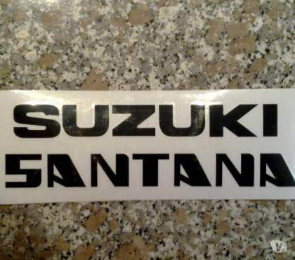 Foto di Vivastreet.it Adesivo Suzuki Santana per portello Suzuki SJ 410 413