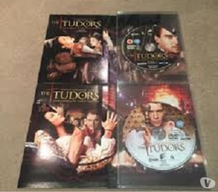 tudors cofanetto  Dvd originali serie tv completa THE TUDORS 4 stagioni Torino