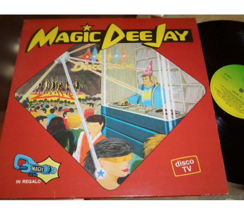 compact disc dvd e videogames Palermo e provincia Palermo - Foto di Vivastreet.it MAGIC DEE JAY - Compilation Mixed - LP 33 giri 1984