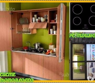 Foto di Vivastreet.it Cucina Monoblocco a Scomparsa SKY CHERRY L=185 cm+P.C INDUZI