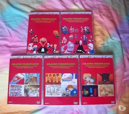 Foto di Vivastreet.it Grandi Personaggi serie animata rarissima in dvd