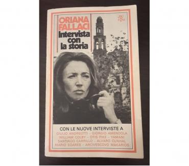 Foto di Vivastreet.it ORIANA FALLACI, Intervista con la storia, BUR 1^ Ed. 1977.