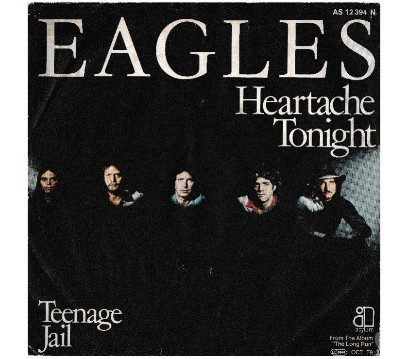 compact disc dvd e videogames Palermo e provincia Palermo - Foto di Vivastreet.it EAGLES - Heartache Tonight Teenage Jail - 7''45 giri 1979